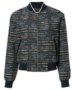 Grey Jason Wu | Tweed Bomber Jacket