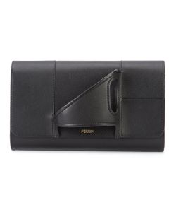 PERRIN PARIS | Lasymetrique Clutch Leather
