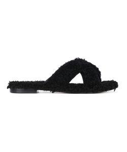 Avec Modération | St Moritz Sandals 40 Leather/Rubber/Sheep Skin/Shearling