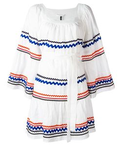 Lisa Marie Fernandez | Short Peasant Dress 2 Linen/Flax