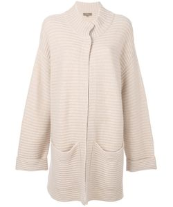 N.PEAL | Two Tone Chunky Cardi-Coat Women