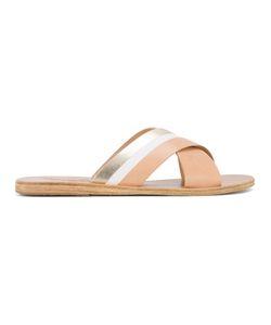 ANCIENT GREEK SANDALS | Thais Cross-Over Sandals 39