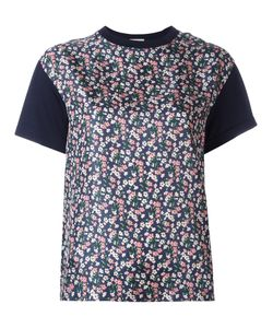 Moncler | Printed Panel T-Shirt Large Silk/Cotton