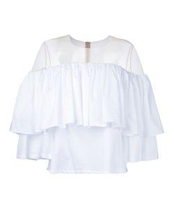 Elaidi | Ruffled Off Shoulder Blouse Size 38