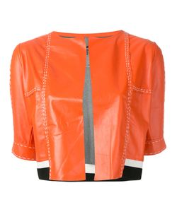 Aviù | Cropped Short Sleeve Jacket Size Small