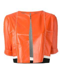 Aviù | Cropped Short Sleeve Jacket Size Small