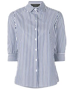 Federica Tosi | Striped Poplin Shirt