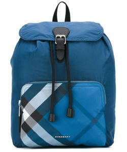 Burberry | Packable Check Detail Backpack