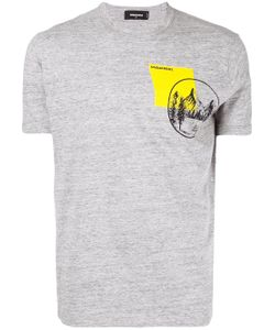 Dsquared2 | Mountain Pocket Print T-Shirt