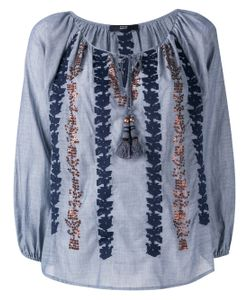 Steffen Schraut | Embroidered Sequin Blouse