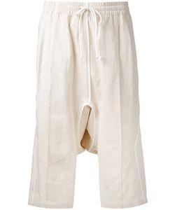 ABASI ROSBOROUGH | Drop-Crotch Track Shorts Size Large