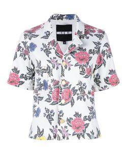 House Of Holland   Roses Print Shortsleeved Shirt 14
