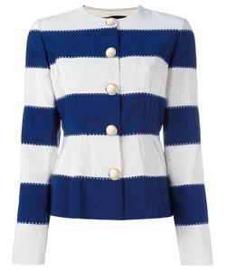 ROSSELLA JARDINI | Striped Jacket Size 44