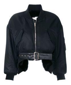 Comme Des Garçons Noir Kei Ninomiya | Cropped Bomber Jacket
