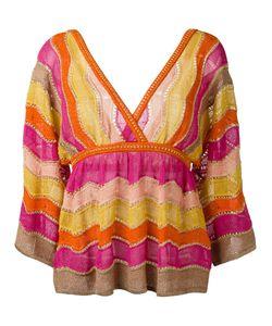 Missoni | M Knitted Blouse 42 Polyamide/Viscose Fibre/Cotton