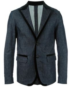 Dsquared2 | Denim Blazer 48 Cotton/Spandex/Elastane/Viscose/Cotton