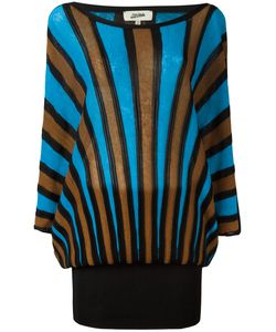 JEAN PAUL GAULTIER VINTAGE | Striped Fitted Long Dress Small