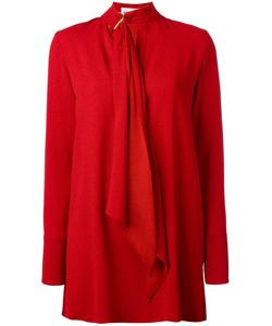Sonia Rykiel | Tie-Neck Tunic Dress 40 Polyester/Triacetate