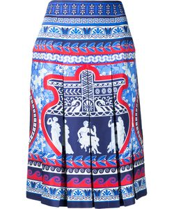 Mary Katrantzou | Gheia Twill Pleated Skirt Women