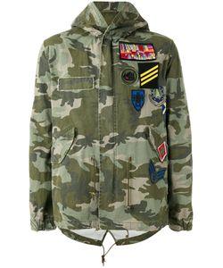 MR & MRS Italy | Camouflage Print Jacket Size Large