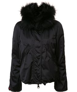 KRU | Hooded Reversible Jacket Medium Racoon Fur/Coyote Fur