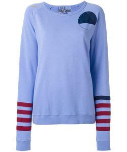 Free City   Freecity Print Sweatshirt Medium Cotton