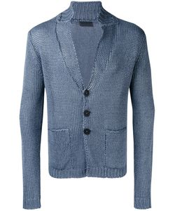 IRIS VON ARNIM | Patch Pocket Cardigan Large Linen/Flax