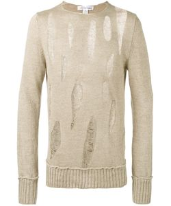 Comme Des Garcons | Comme Des Garçons Shirt Destroyed Ladder Stitch Sweater