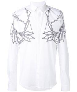 Les Hommes | Рубашка С Геометрическими Принтами