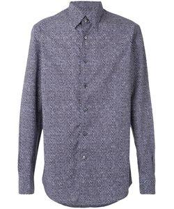 Ermenegildo Zegna | Рубашка С Геометрическим Принтом