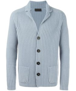 IRIS VON ARNIM | Ribbed Cardigan Large Cashmere