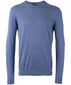Laneus | Ribbed Trim Sweatshirt Size 48
