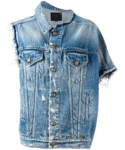 R13 | Asymmetric Denim Jacket Size Small