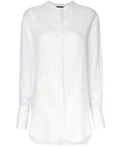 Bassike   Collarless Shirt 12