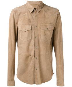DESA | 1972 Chest Pocket Shirt 48 Suede