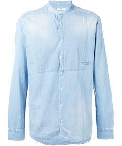 Paolo Pecora | Джинсовая Рубашка С Потертостями