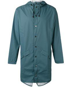 Rains | Long Hooded Jacket Size Large