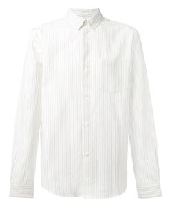 A.P.C. | Mick Striped Button-Down Shirt .