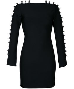 David Koma | Strappy Sleeves Mini Dress