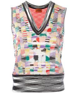 Missoni | Knit Tank Top 40 Polyester/Viscose