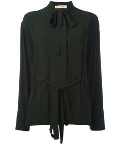 Marni | Pussy Bow Placket Blouse Size 40