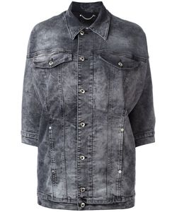 Diesel | Three-Quarters Sleeve Denim Jacket Xs Cotton/Spandex/Elastane/Polyester