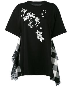 Antonio Marras | Embroidered Panel T-Shirt