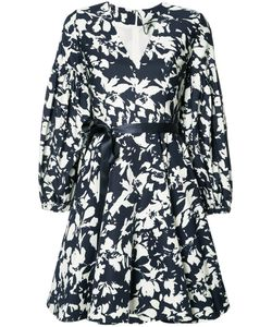 Alexis | Blossom Print Fla Dress Small Polyester