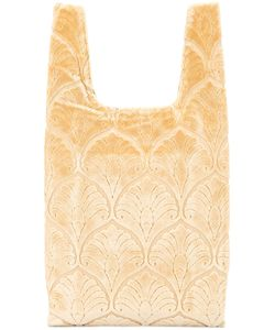 Hayward | Shopper Tote Calf Suede/Silk Velvet