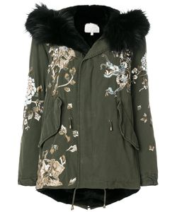 Amen | Embroidered Hooded Parka Women