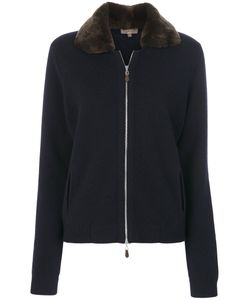 N.PEAL | Fur Collar Bomber Jacket Women
