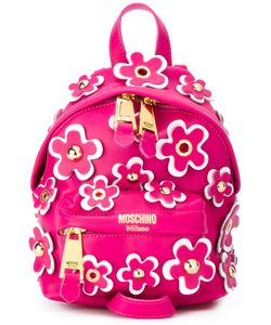 Moschino   Flower Power Backpack Leather