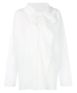 Y'S   Drape Front Shirt Size 1