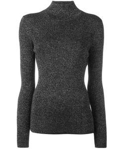 Diane Von Furstenberg | Roll-Neck Knitted Top Small Merino/Viscose/Polyester/